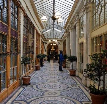 The covered passages are a very Parisian invention...
