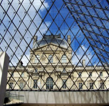 The Louvre Museum is a hymn to the world's artistic heritage.