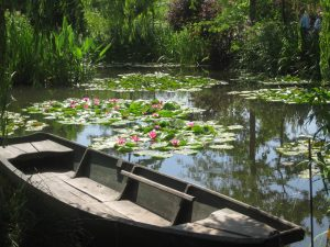 private guided tour Giverny Monet, Claudia Semmel Guide in Paris