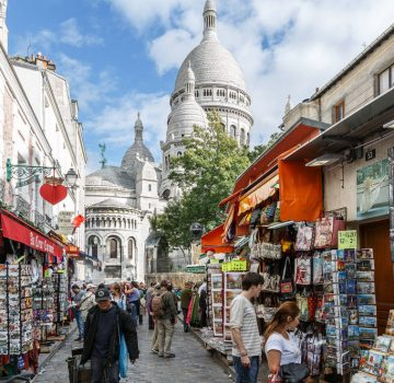 Away from crowds and bustle enjoy the hidden side of Montmartre.